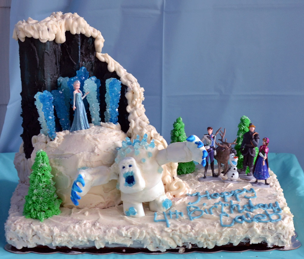 Frozen Cake Ideas Themed Childrens Birthday Party PickEase