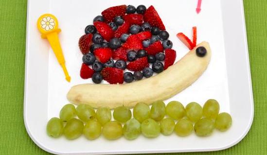 Fruit Snail Fun Recipes for Picky Eater