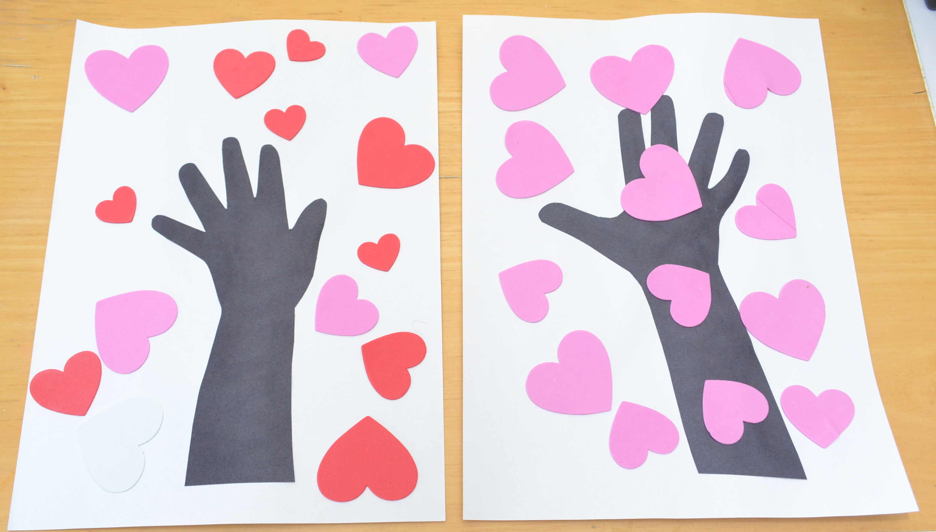 10 valentines day crafts for preschoolers for Valentines day toddler crafts