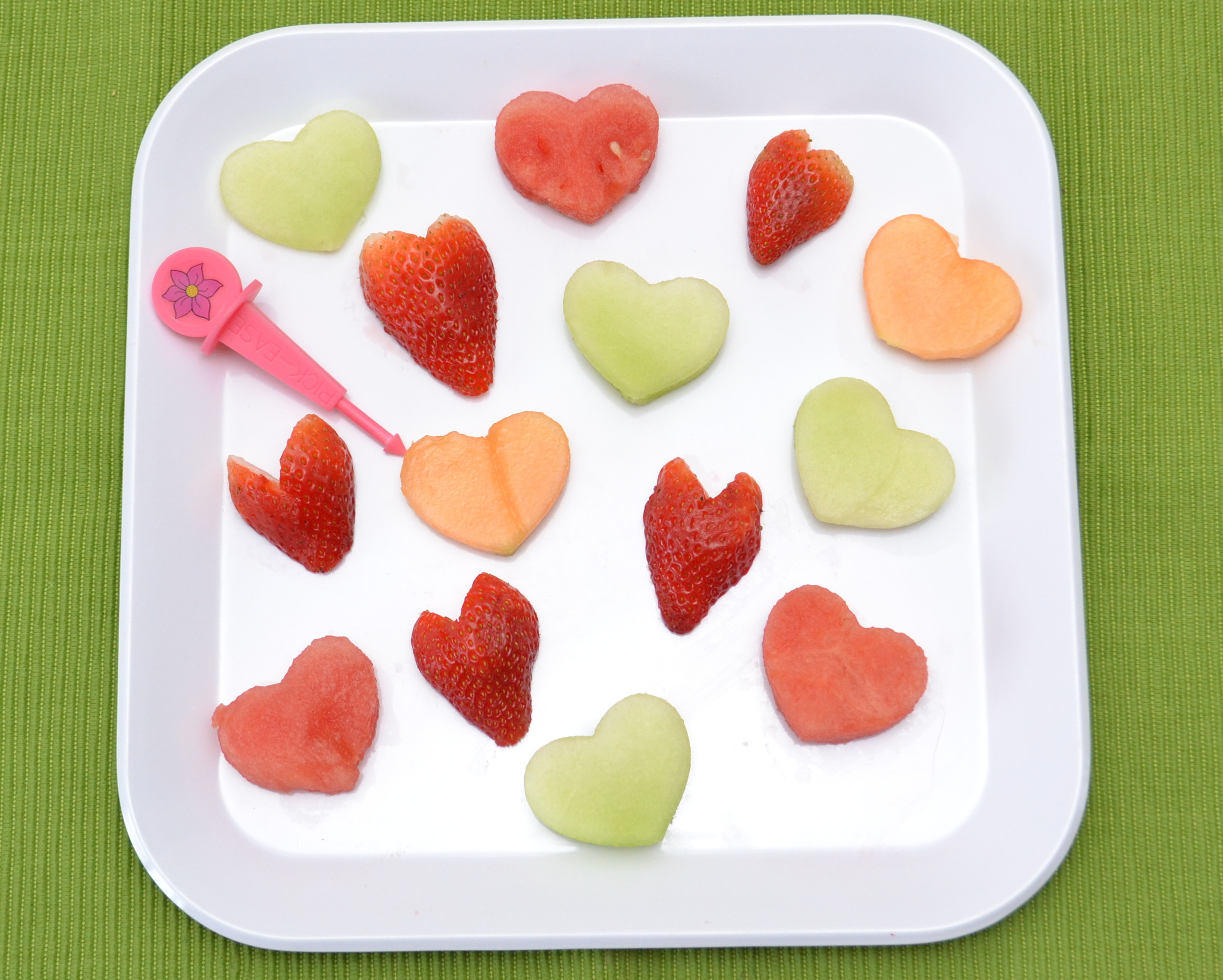 Valentines Day Snack Ideas - Valentines Fruit Salad