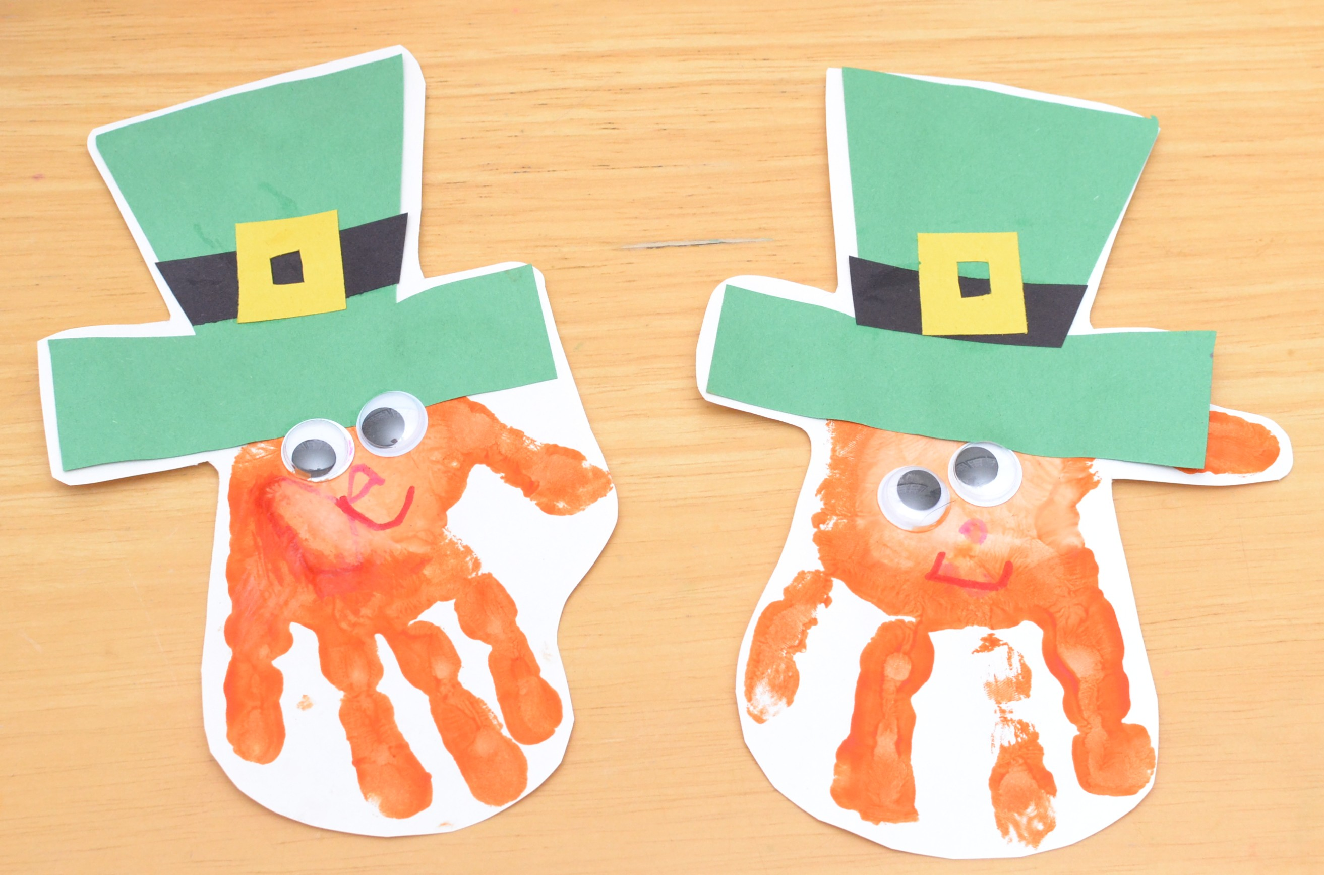 St. Patricks Day Crafts - Leprechauns