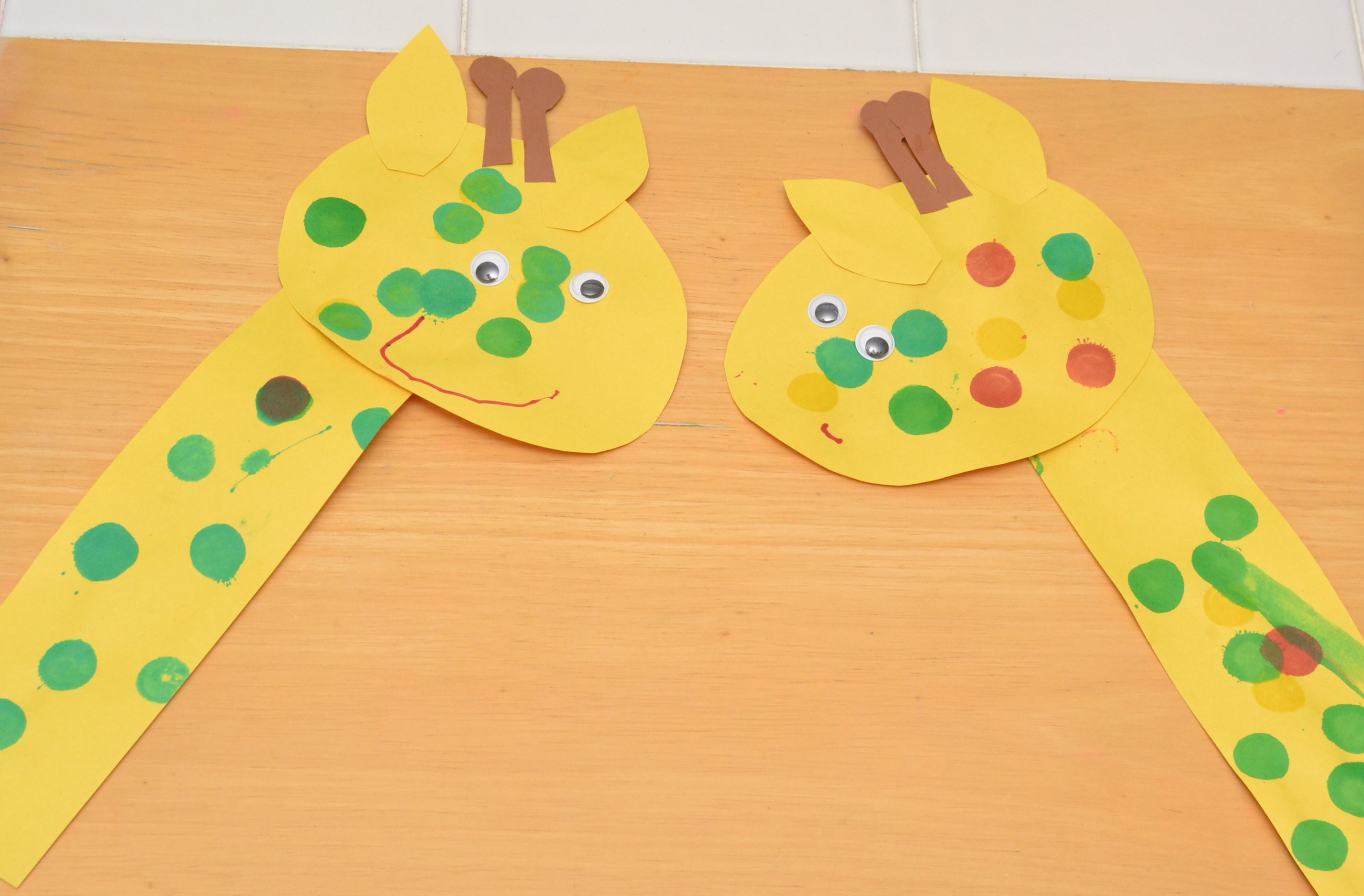 Easy Zoo Animal Crafts For Preschoolers