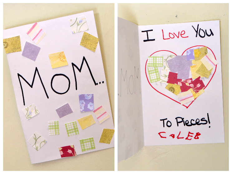 6 simple mothers day crafts for kids for Mothers day cards from preschoolers